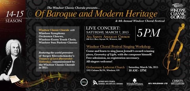 Choral Festival March 2015