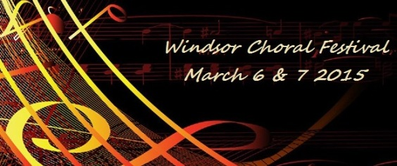 Windsor Choral Festival March 2015